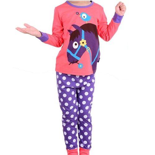 girls horse themed pyjamas 2