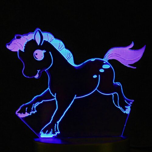 LED night light pony design